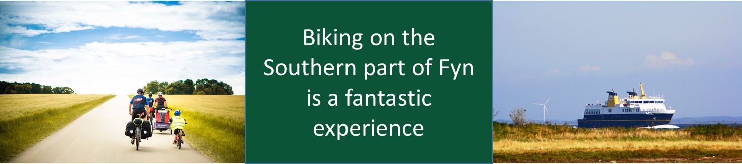 Biking on the Southern part of Fyn is a fantastic experience